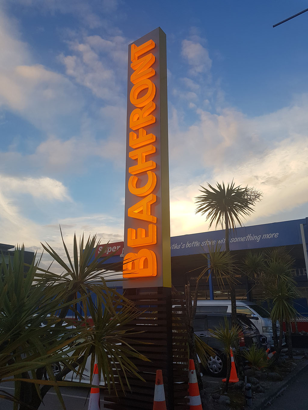 Beachfront - 3 Dimensional LED Sign