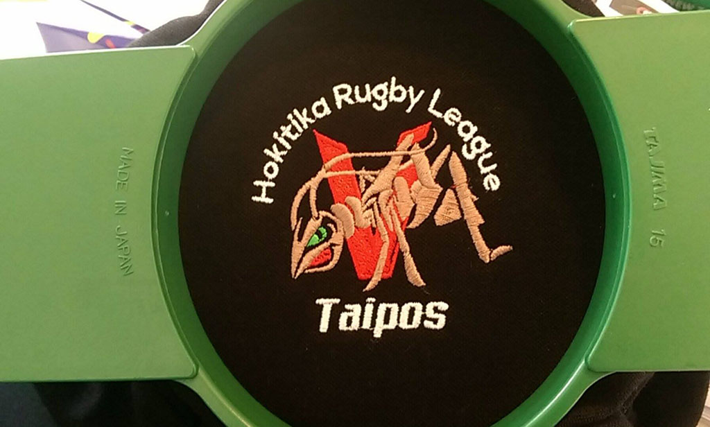 Taipos Rugby League - Embroidery