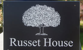 Corian House Sign