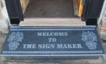 Slate door step House Sign