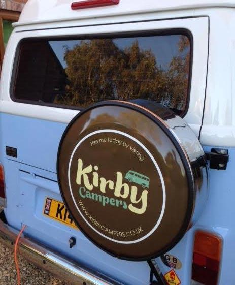 VW Camper Van Wheel Cover