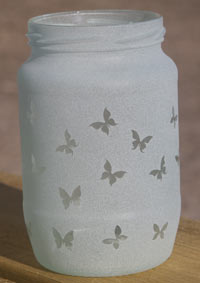 sand-blasted-jars-butterfly