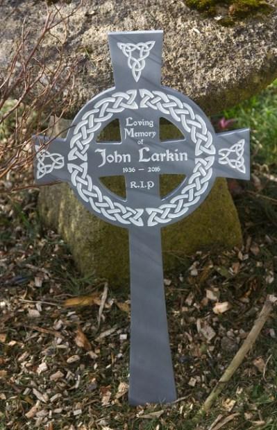 Celtic Corian Memorial Cross