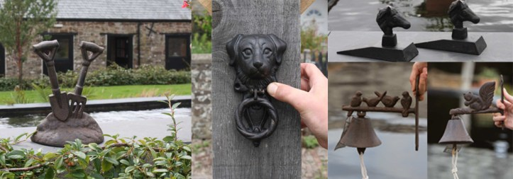 Cast gifts are perfect for the home or garden.