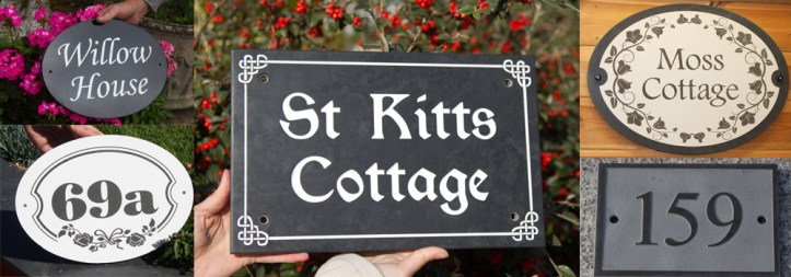 Bespoke, high-quality stone signage create in the rural workshops of The Sign Maker.