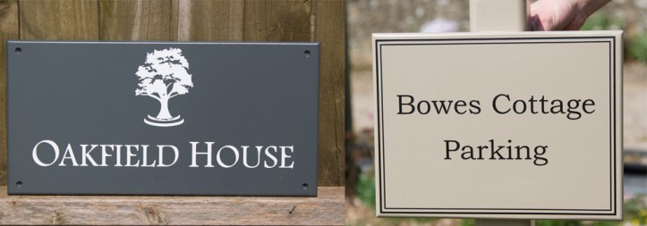 High-quality bespoke, painted signs crafted onsite at The Sign Maker.