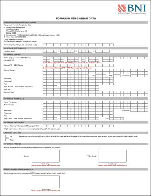 Bank Bni Png : Printable, Template, SignNow