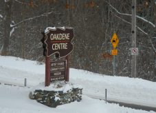 signs - Oakdene - winter