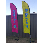 Flag Feather Banner 2