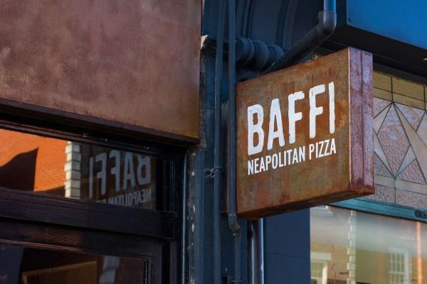 Baffi Neapolitan Pizza Restaurant Sign Steve Blackwell