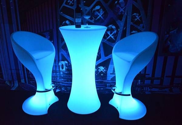 led table and chairs swivel chair joke furniture 5