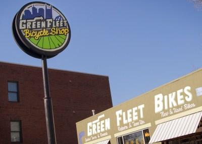 Green Fleet Bicycle Shop