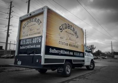 Sudberry Box Truck Wrap