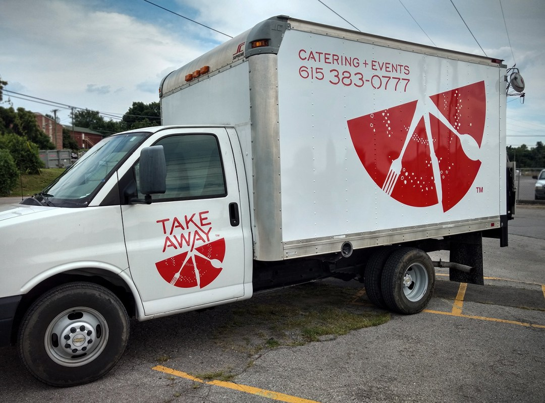 Take Away Catering_Spot Graphics