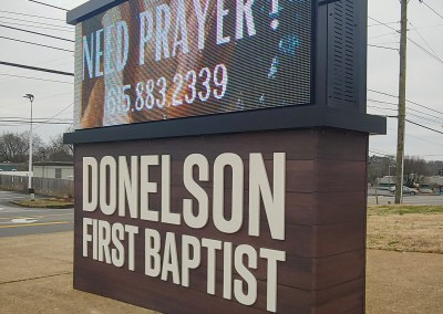 Donelson First Baptist Monument
