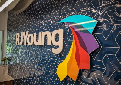 RJ Young Office 3D Logo