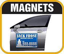 Full Color Vehicle Door Magnets