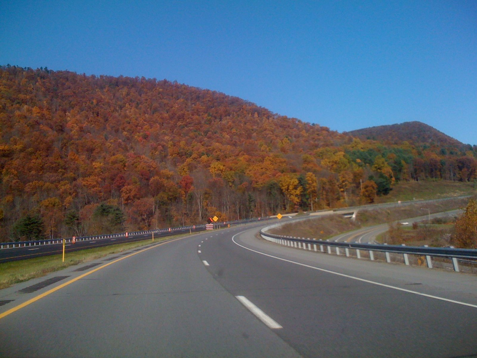 Fall Colors through Pennsylvania