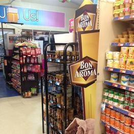 Bon Aroma Massy Supermarket Rack Branding Thumnbnail