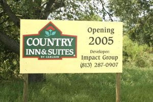 Coming Soon New Development Site Sign