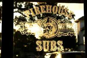 Firehouse Subs Die Cut Window Decal