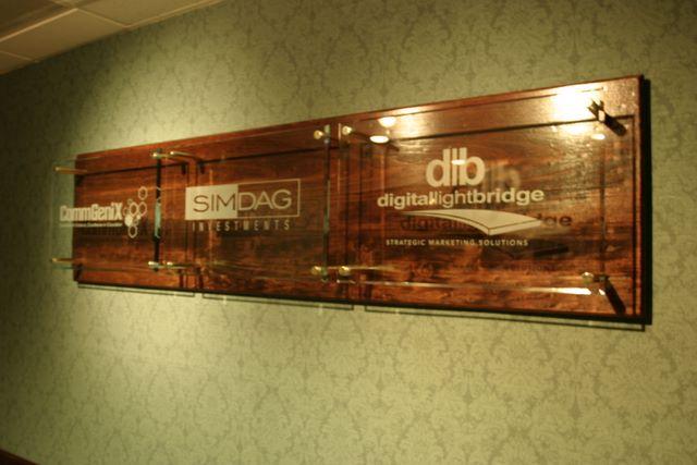 DLB Lobby Sign