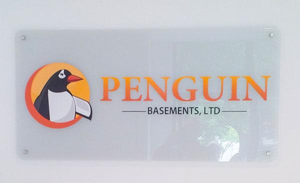 logo office  reception sign toronto