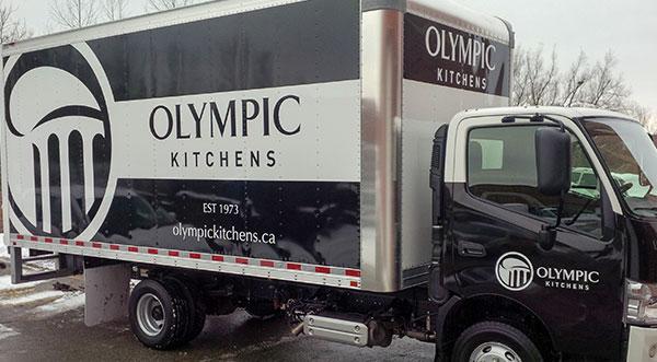 large truck vinyl  wrap toronto
