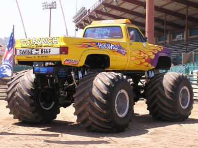 Monster truck graphics