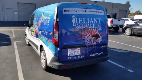 Full wrap on Ford Transit