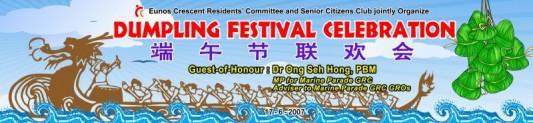 Dumpling Festival Banner Printing