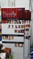 2 x 0.85m Pull up banners for NUS