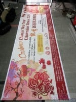 Design and Print on PVC banner for Cashew Chinese New Year Celebration Dinner 2016