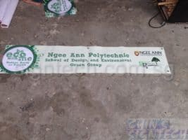 PVC banner printing for Ngee Ann Poly