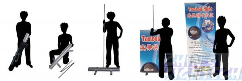 How to set up a Pull Up Banner