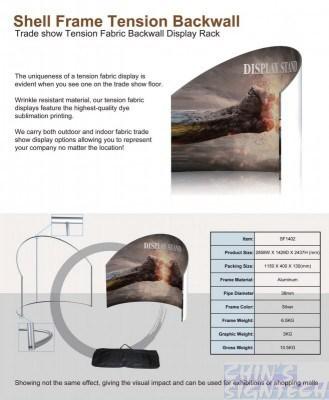 Curve shape backwall