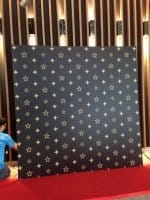 Step and repeat photo booth backdrop