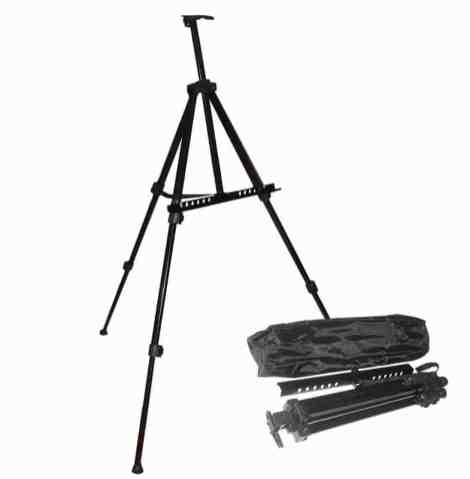 Tripod Easel Stand for foam board with carry bag