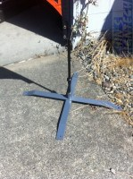 Metal Cross base for Flying Flag