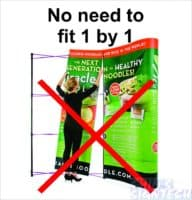No need to install Panels 1 by 1 on Pop out display