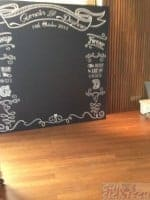 wedding chalk board photo booth 8 x 8ft