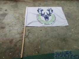 SDSC custom Flag printing