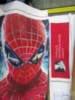 Fabric printing with Spiderman graphic