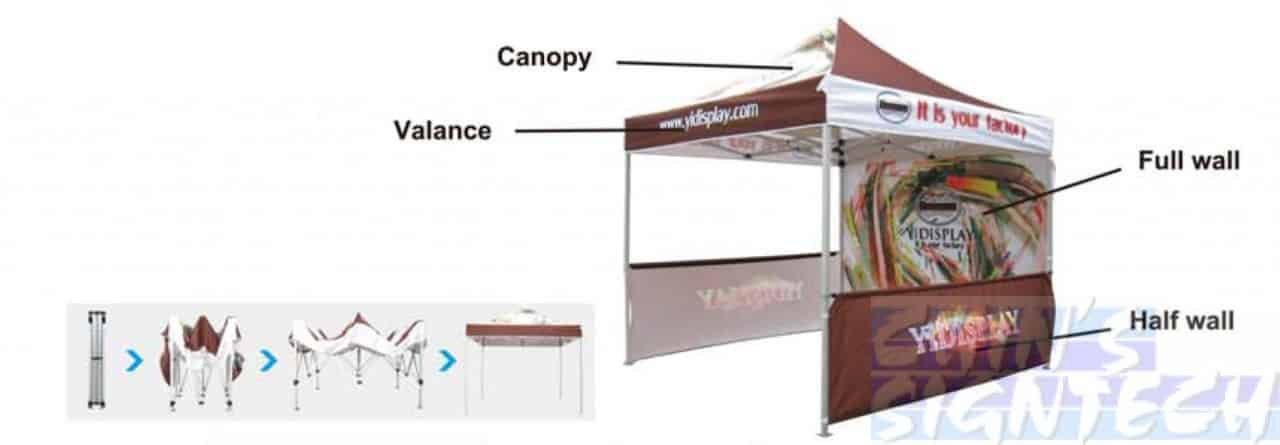 pop out canopy tent