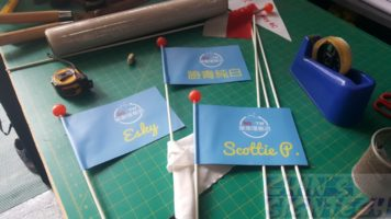 Safety bicycle flags