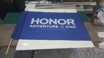 1.5 x 1m Flag - Honor