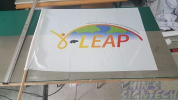Flag printing for LEAP