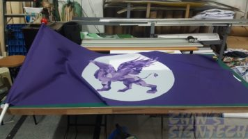 Griffon Flag on size 2 x 1m