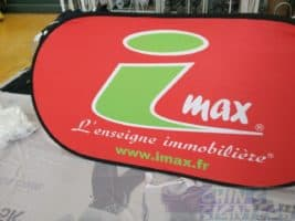imax Pop Out A Frame Banner -Large size