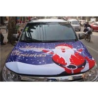 Car hood cover - Chirstmas